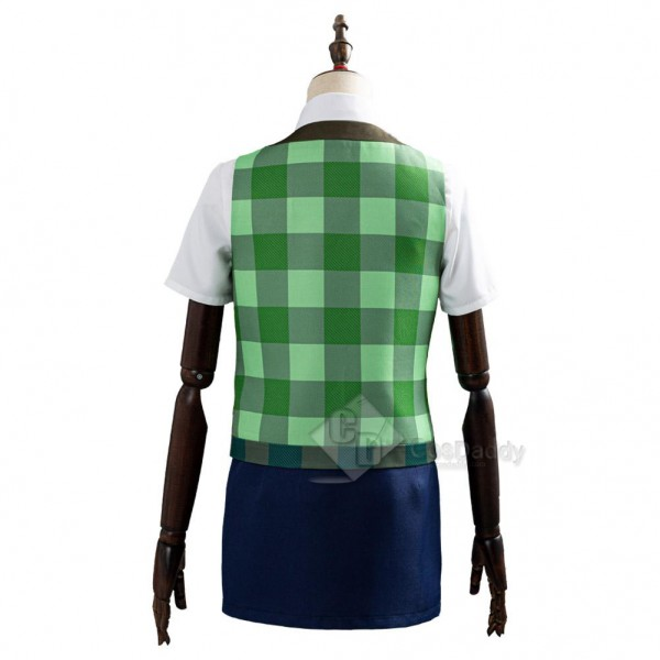 Game Animal Crossing: New Horizons Isabelle Cosplay Costume Outfits
