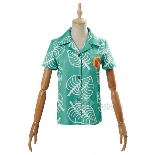 Animal Crossing: New Horizons Tom Nook Timmy and Tommy Shirt Cosplay Costume
