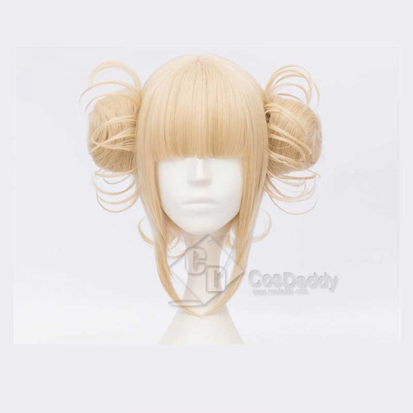 My Hero Academia Boku no Hero Akademia Himiko Toga Cosplay Wig(Two Color)