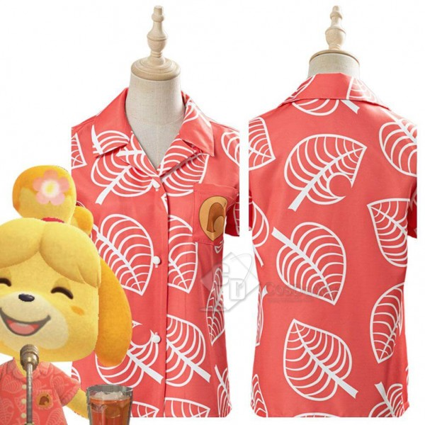 Animal Crossing: New Horizons Isabelle Shirt Cospl...
