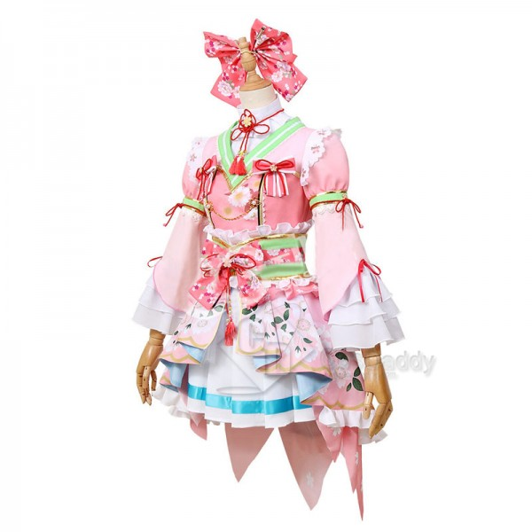 Anime Bang Dream Kanon Matsubara Dress Cosplay Costume