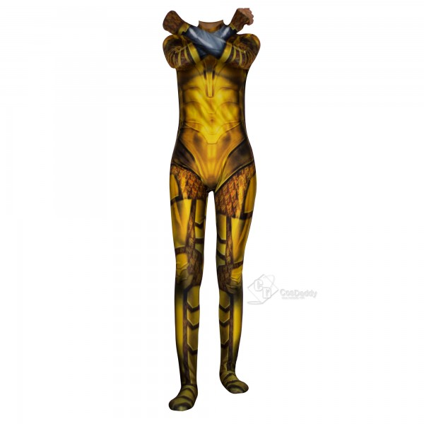 Wonder Woman 1984 Diana Prince Gloden Bodysuit Jumpsuit Cosplay Costume