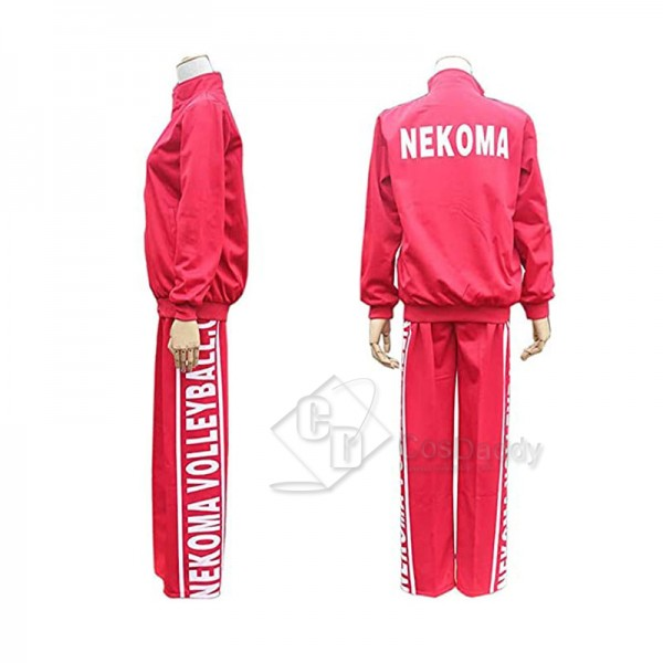 Haikyuu Cosplay Nekoma High School Uniform Volleyb...
