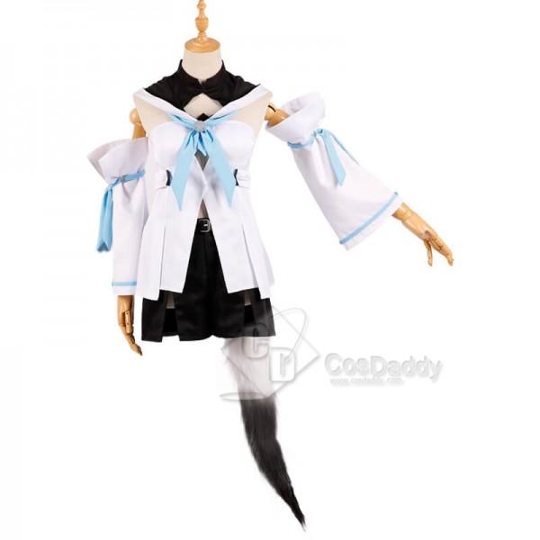 Best YouTuber Vtuber Shirakami Fubuki Cospaly Costume Guide