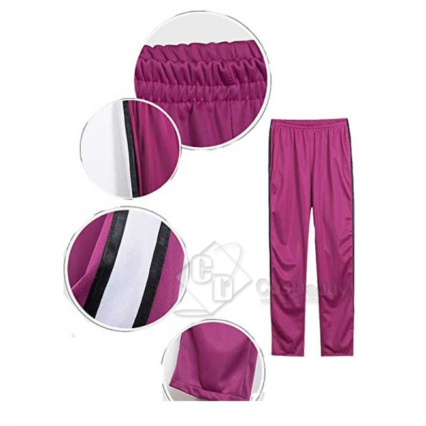 Haikyuu!! Wakatoshi Ushijima Cosplay Costumes Shiratorizawa High School Volleyball Uniform