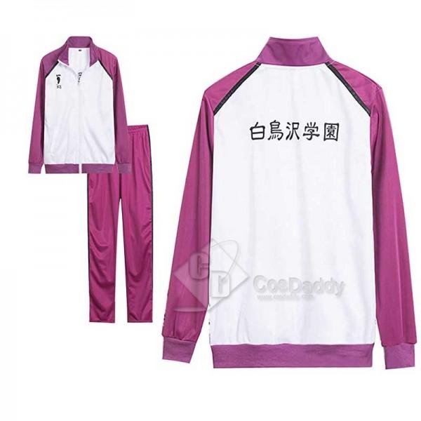 Haikyuu!! Wakatoshi Ushijima Cosplay Costumes Shir...