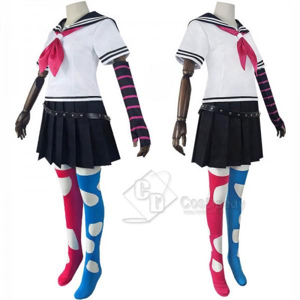 Danganronpa 2 Goodbye Despair Ibuki Mioda School Uniform Cosplay Costume Cosplay Wig
