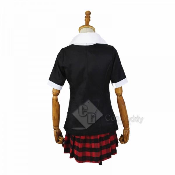 Danganronpa Junko Enoshima School Uniform Cosplay Costume Cosplay Wig