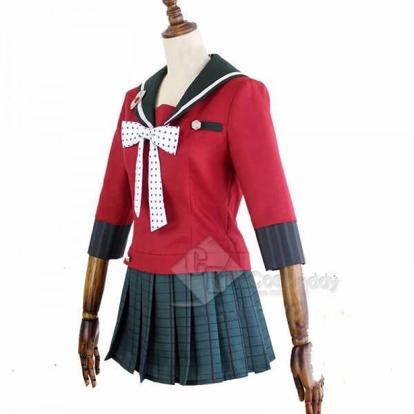 Danganronpa V3 Killing Harmony Maki Harukawa School Uniform Cosplay Costume