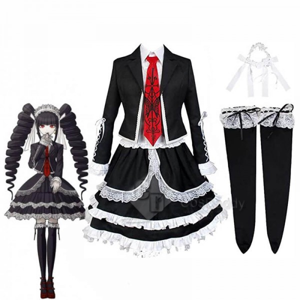 Danganronpa Celestia Ludenberg Lolita Dress School...