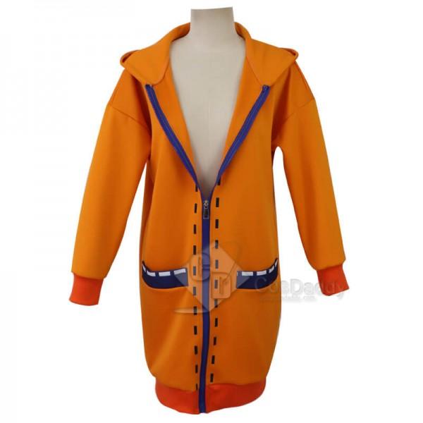 CosDaddy Kakegurui Yomoduki Runa Orange Rabbit Hoodie Jacket Cosplay Costume