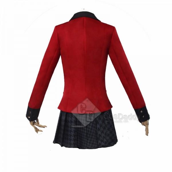 Best Kakegurui Jabami Yumeko School Uniform Cosplay Costume For Sale