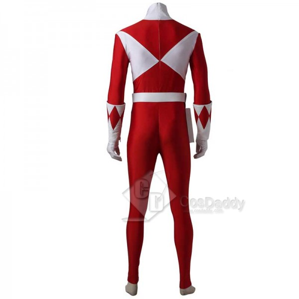 Mighty Morphin Power Rangers Red Ranger Cosplay Costume Full Set Boots