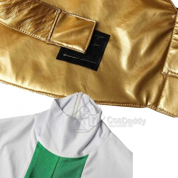 Mighty Morphin Power Rangers Green Ranger Zentail Jumpsuit Bodysuit Boots Cosplay Costume