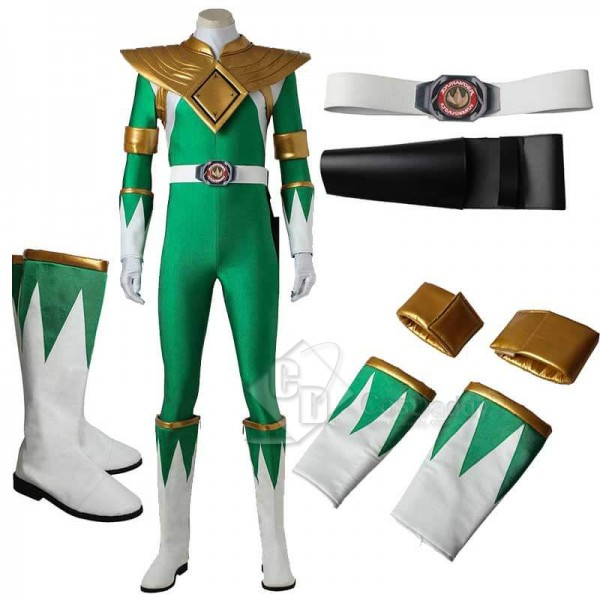 Mighty Morphin Power Rangers Green Ranger Zentail ...