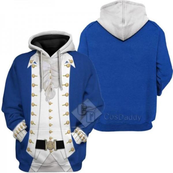 Adults Alexander Hamilton 3D Printed Hoodie Jacket...