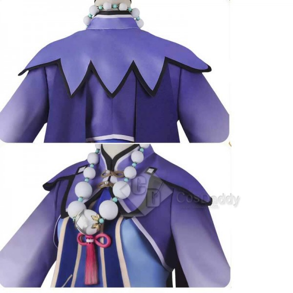 CosDaddy Best Genshin Impact Qiqi Cosplay Costume Deluxe Full Set