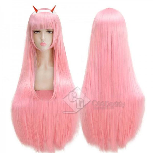 Darling in the Franxx Zero Two 002 Cosplay Wig for Sale CosDaddy