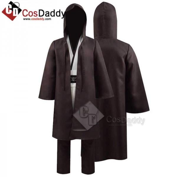 Kids Star Wars Obi-Wan Kenobi Jedi Tunic Full Set ...