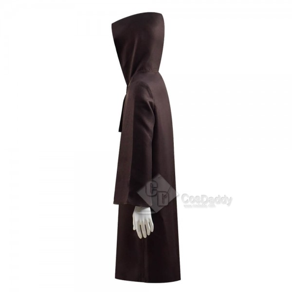Star Wars Cosplay Costume Kids Obi-Wan Cosplay Costume Deluxe Full Set Jedi Tunic Outfit