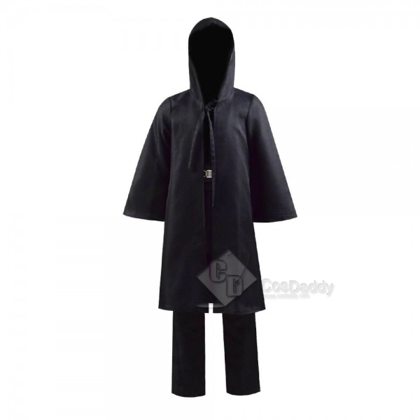 Star Wars Kids Darth Maul Cosplay Costume Deluxe Full Set Outfit Cloak Robe