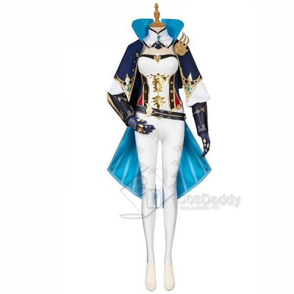 Best Game Genshin Impact Jean Cape Full Set Cosplay Costume Deluxe Version Outfit