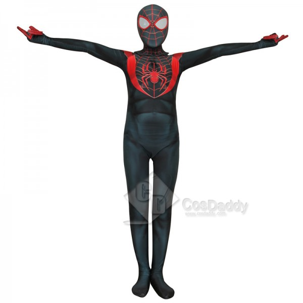 Spider-Man Cosplay Suit Kids Adults Miles Morales Ultimate Spider-Man Zentai Bodysuit Cosplay Costume