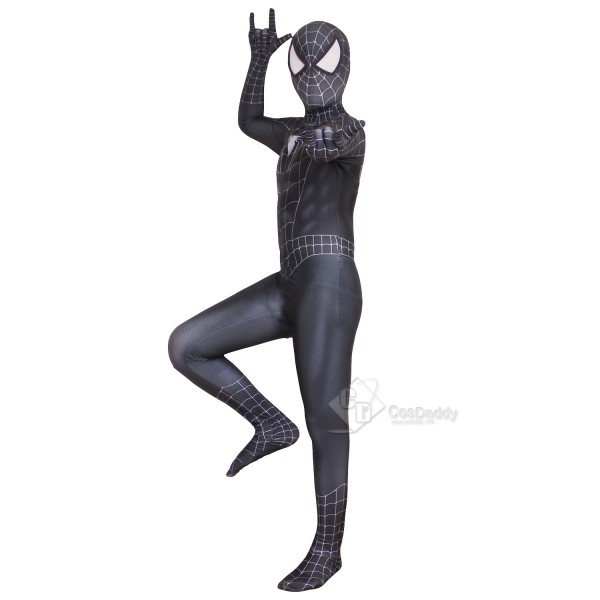 Marvel The Amazing Spider-Man Costume Black Zentai...