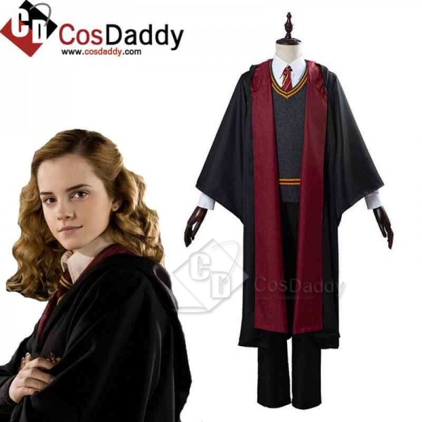 Best Harry Potter Hermione Cosplay Costume School ...