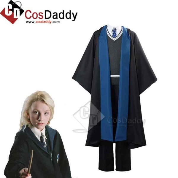 CosDaddy Harry Potter Luna Lovegood Ravenclaw Scho...