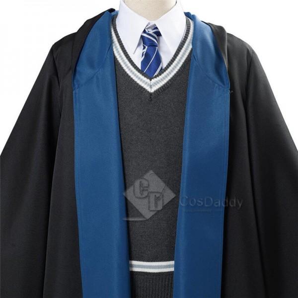 CosDaddy Harry Potter Luna Lovegood Ravenclaw School Uniform Robe Cloak Cosplay Costume