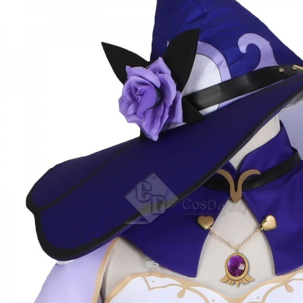 CosDaddy Genshin Impact Lisa Minci Witch Suit Cosplay Costume For Sale