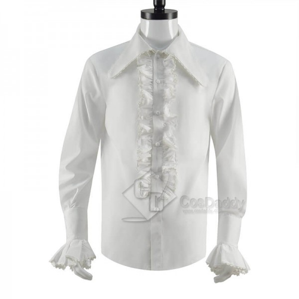 CosDaddy Doctor Who Third 3rd Doctor Frilled Shirt...