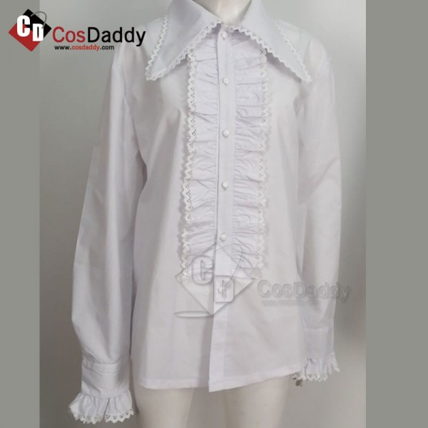 Doctor Who Third 3rd Doctor Frilled Shirt Cosplay ...