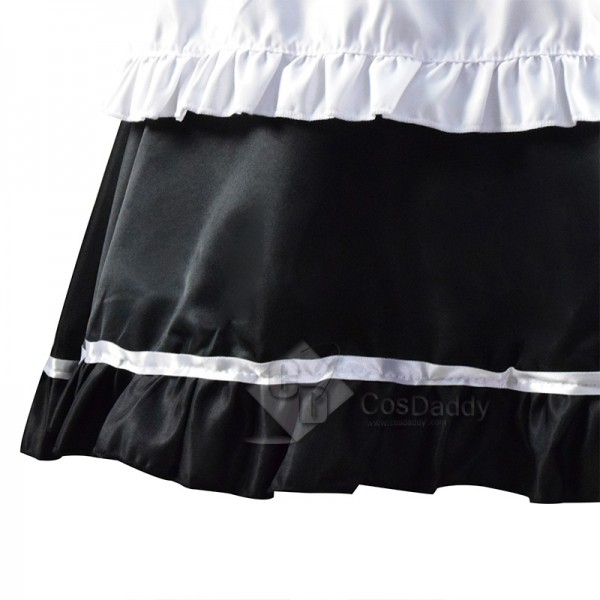 Women Maid Outfit French Apron Lolita Dress Maid Dress Cosplay Costume