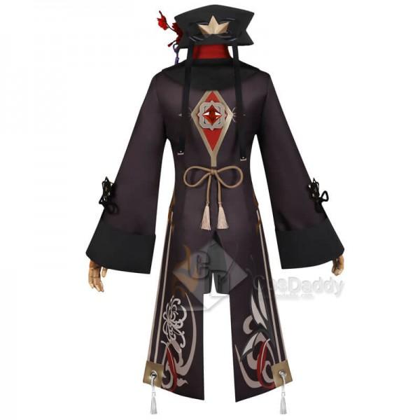 Best Genshin Impact Hu Tao Halloween Carnival Outfit Cosplay Costume