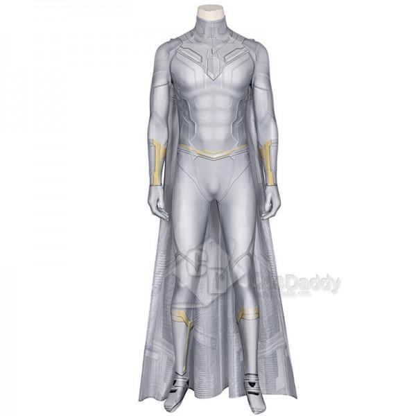 WandaVision White Vision Superhero Suit Cosplay Costume CosDaddy