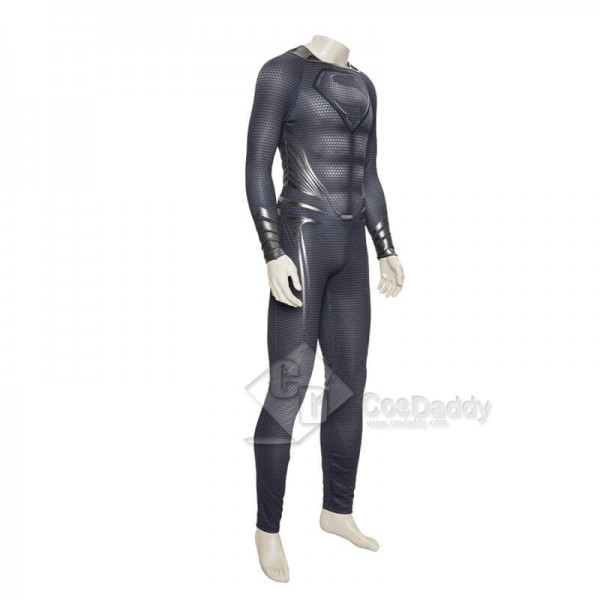 Superman: Man Of Steel 2 Superman Zentai Bodysuit Jumpsuit Cape CloakCosplay Costume