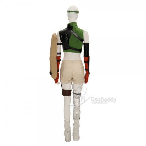CosDaddy Final Fantasy VII Remake FF7 Yuffie Kisaragi Cosplay Costume