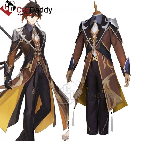 Best Genshin Impact Zhongli Cosplay Costume For Sa...