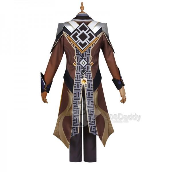 Best Genshin Impact Zhongli Cosplay Costume For Sale