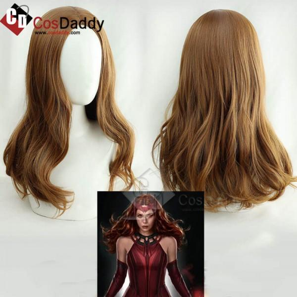 WandaVision Scarlet Witch Wanda Maximoff Wig Cospl...