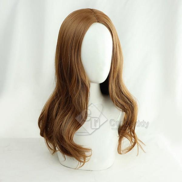 WandaVision Scarlet Witch Wanda Maximoff Wig Cosplay Accessory