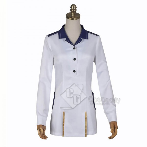 86--EIGHTY-SIX Vladilena Milize Uniform Outfit Cosplay Costume