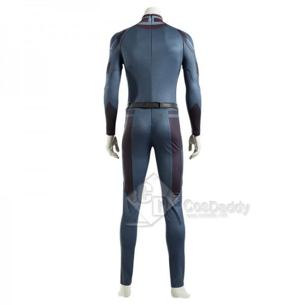 2021 WandaVision Costume Vision Jumpsuit Superhero Cosplay Costume
