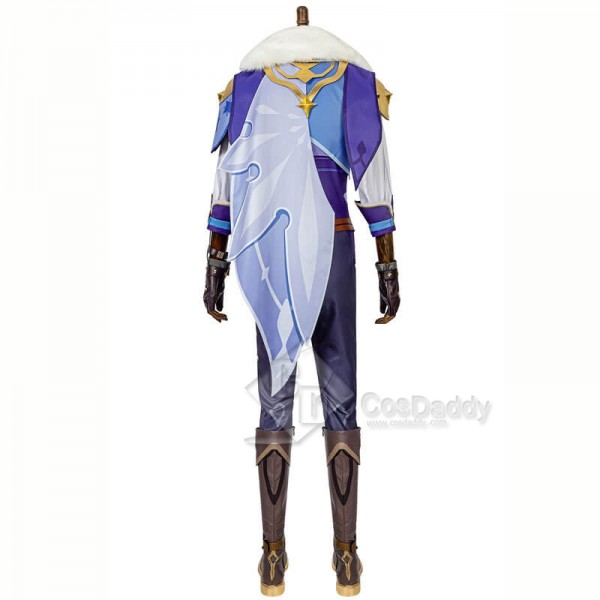 Game Genshin Impact Kaeya Cosplay Costumes Outfit Suit CosDaddy
