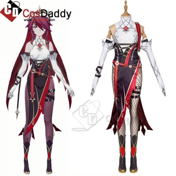 CosDaddy Genshin Impact Rosaria Cosplay Dress Suit...