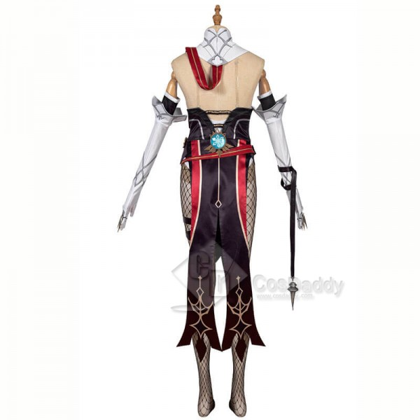 CosDaddy Genshin Impact Rosaria Cosplay Dress Suit Costumes