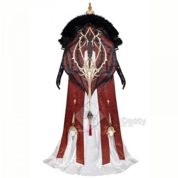 La Signora Cosplay Costume Genshin Impact Cosplay Suit for Halloween