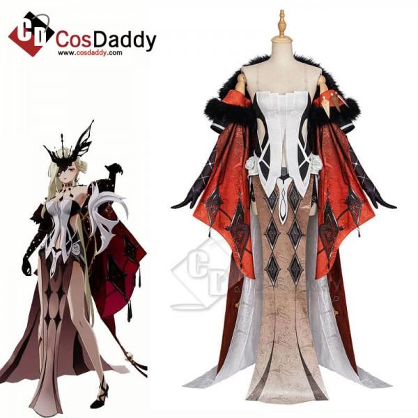 La Signora Cosplay Costume Genshin Impact Cosplay ...